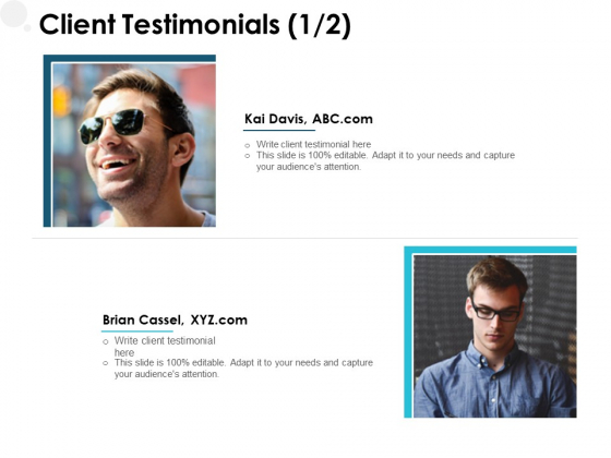 Client Testimonials Communication Ppt PowerPoint Presentation Pictures Gallery
