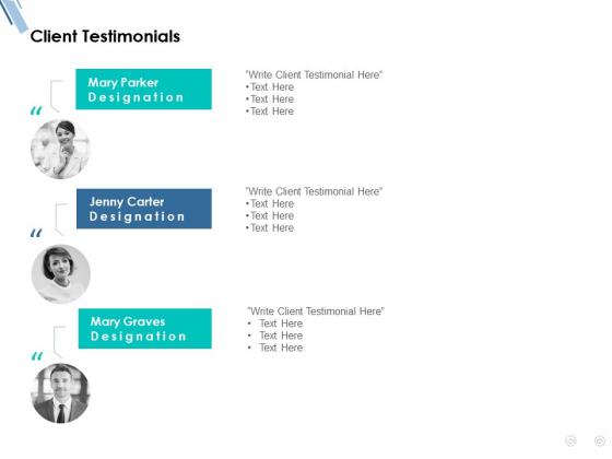 Client Testimonials Communication Ppt PowerPoint Presentation Portfolio Professional
