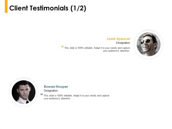 Client Testimonials Communication Ppt PowerPoint Presentation Sample