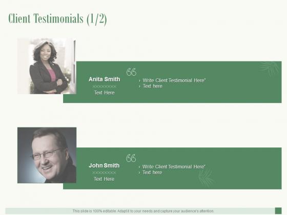 Client Testimonials Communication Ppt PowerPoint Presentation Slides Smartart