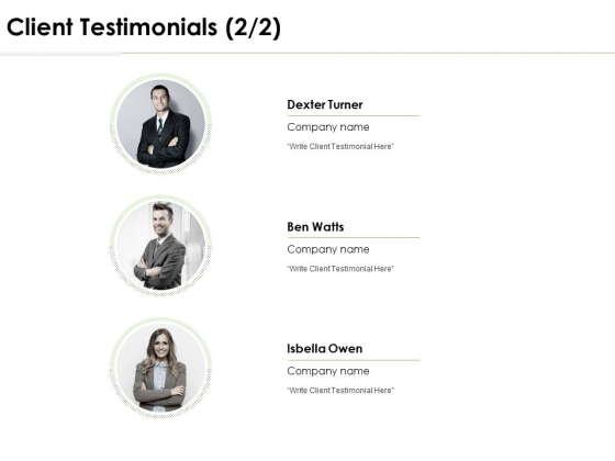 Client Testimonials Communication Ppt PowerPoint Presentation Styles Layouts