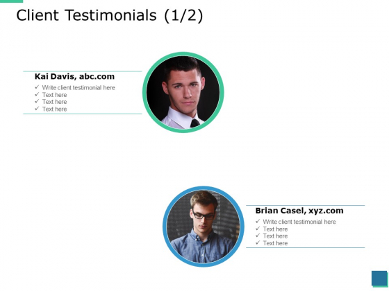 Client Testimonials Intoduction Ppt PowerPoint Presentation Outline Graphics