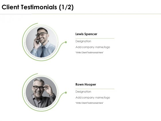Client Testimonials Introduction Ppt PowerPoint Presentation Infographic Template Deck