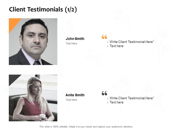 Client Testimonials Introduction Ppt PowerPoint Presentation Professional Graphics Tutorials