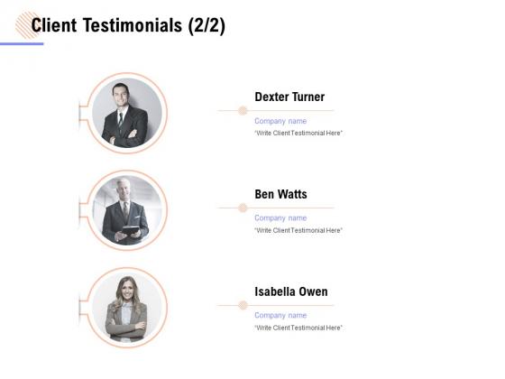 Client Testimonials Management Ppt PowerPoint Presentation Inspiration Layouts
