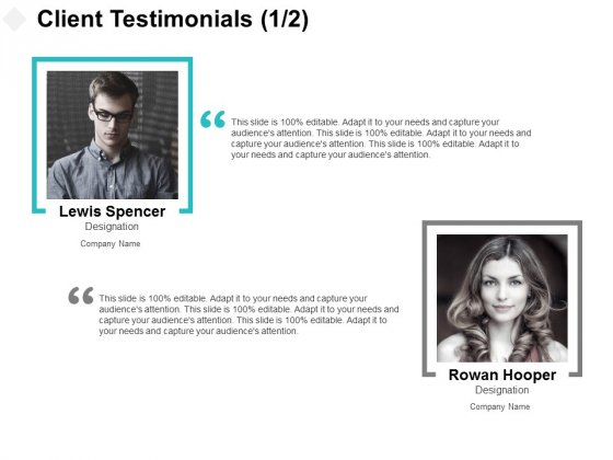 Client Testimonials Members Ppt PowerPoint Presentation Outline Layout