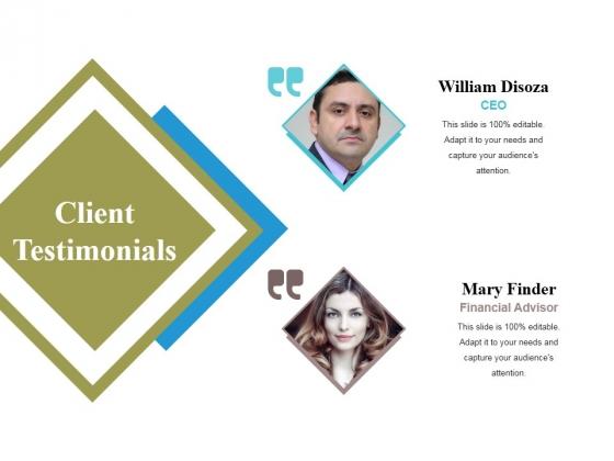 Client Testimonials Ppt PowerPoint Presentation Inspiration Grid