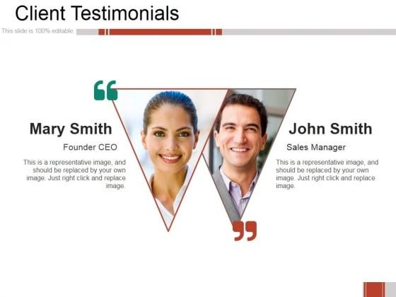 Client Testimonials Ppt PowerPoint Presentation Portfolio Deck