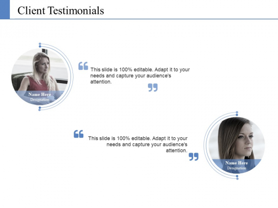 Client Testimonials Ppt PowerPoint Presentation Styles Layout Ideas