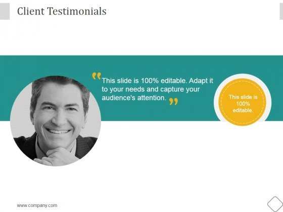 Client Testimonials Ppt PowerPoint Presentation Tips