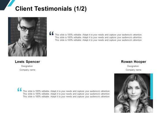 Client Testimonials Teamwork Ppt PowerPoint Presentation Ideas Gallery