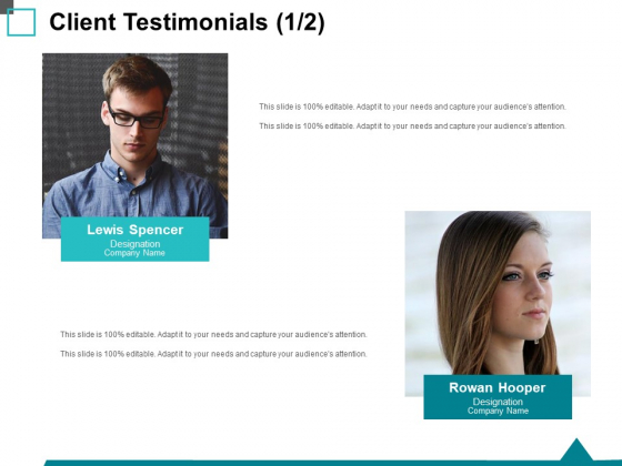 Client Testimonials Teamwork Ppt PowerPoint Presentation Outline Demonstration