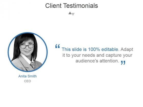 Client Testimonials Template 3 Ppt PowerPoint Presentation Templates