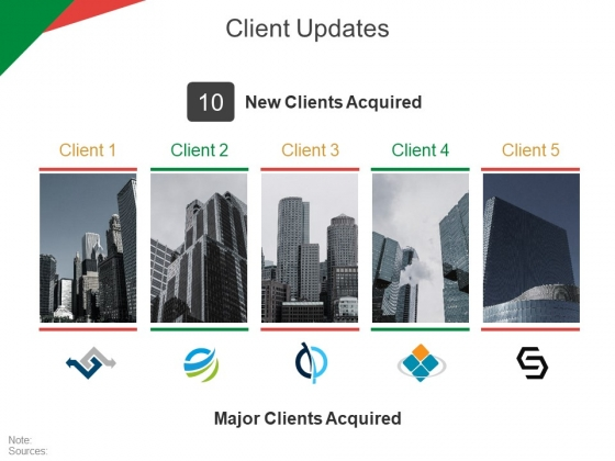 Client Updates Ppt PowerPoint Presentation Gallery Graphics