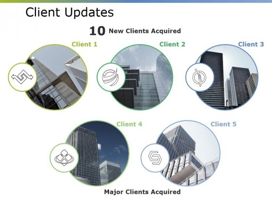 Client Updates Ppt PowerPoint Presentation Inspiration Diagrams