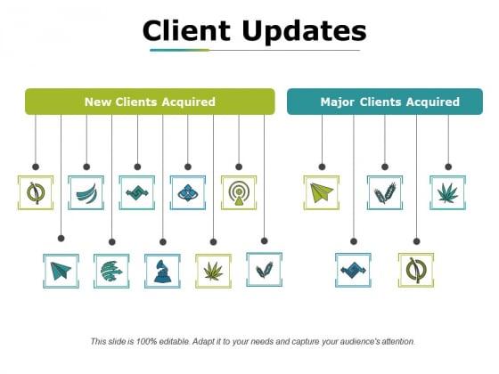 Client Updates Ppt PowerPoint Presentation Styles Skills