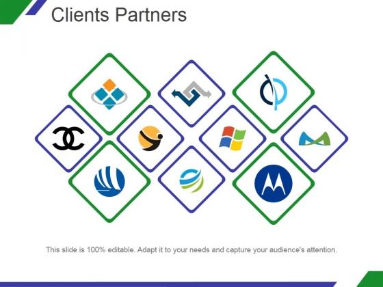 Clients Partners Ppt PowerPoint Presentation Inspiration
