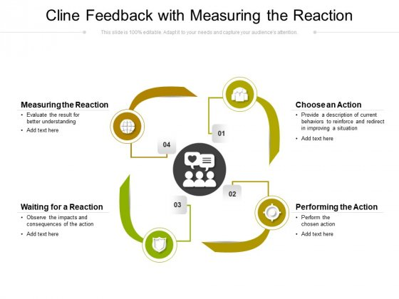 Cline Feedback With Measuring The Reaction Ppt PowerPoint Presentation Styles Background Images PDF