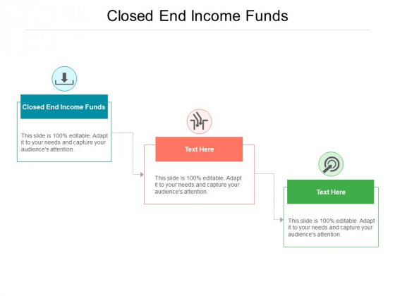 Closed End Income Funds Ppt PowerPoint Presentation Gallery Graphic Tips Cpb Pdf