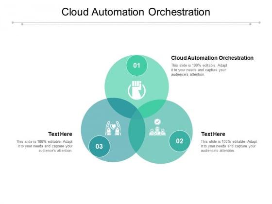 Cloud Automation Orchestration Ppt PowerPoint Presentation Slides Picture Cpb Pdf