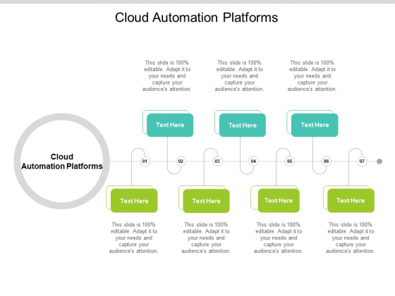 Cloud Automation Platforms Ppt PowerPoint Presentation Summary Picture Cpb