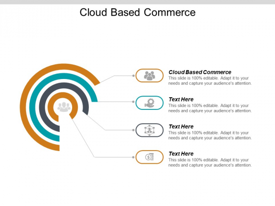 Cloud Based Commerce Ppt PowerPoint Presentation Portfolio Picture Cpb