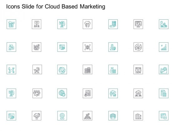 Cloud Based Marketing Icons Slide For Cloud Based Marketing Ppt PowerPoint Presentation Inspiration Template PDF