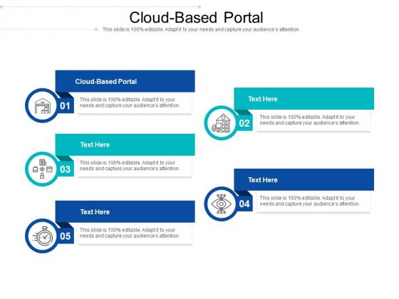 Cloud Based Portal Ppt PowerPoint Presentation Layouts Maker Cpb Pdf