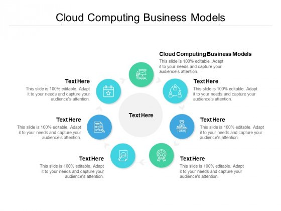 cloud computing business models ppt powerpoint presentation styles inspiration cpb