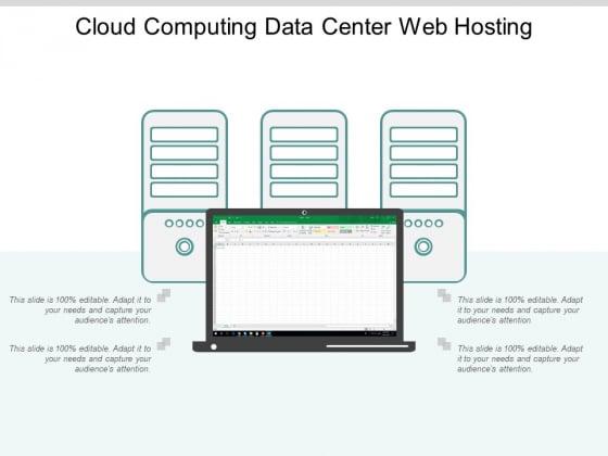 Cloud Computing Data Center Web Hosting Ppt Powerpoint Presentation Outline Portrait