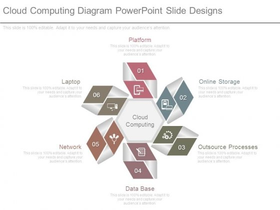 Cloud Computing Diagram Powerpoint Slide Designs