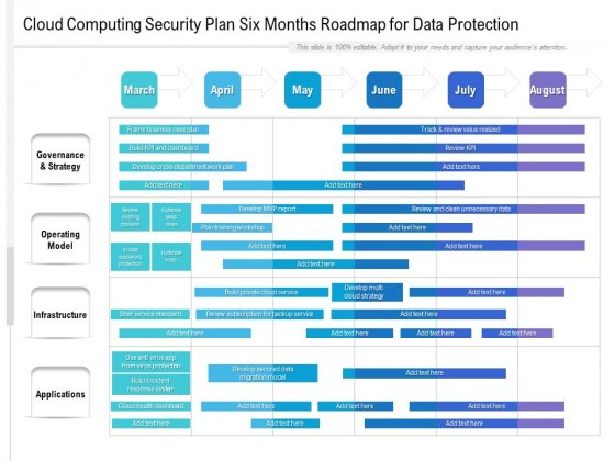 Cloud_Computing_Security_Plan_Six_Months_Roadmap_For_Data_Protection_Themes_Slide_1