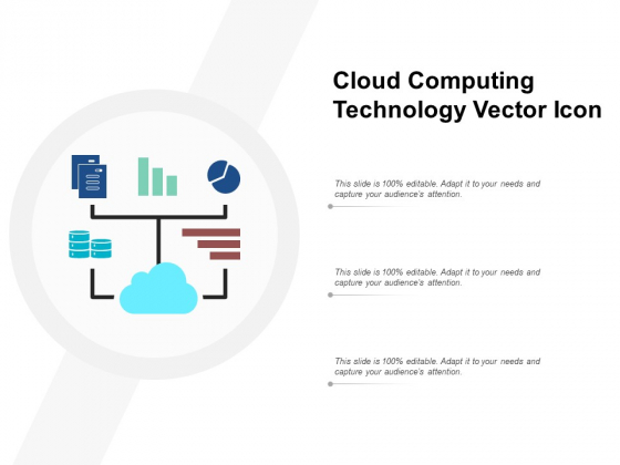 Cloud Computing Technology Vector Icon Ppt PowerPoint Presentation Layouts Background Images
