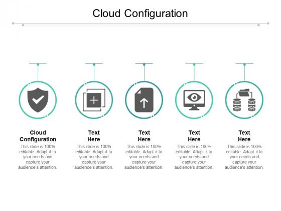 Cloud Configuration Ppt PowerPoint Presentation Portfolio Introduction Cpb Pdf