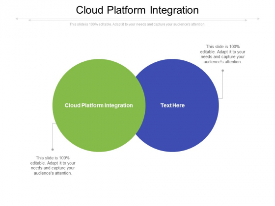 Cloud Platform Integration Ppt PowerPoint Presentation Visual Aids Styles Cpb Pdf