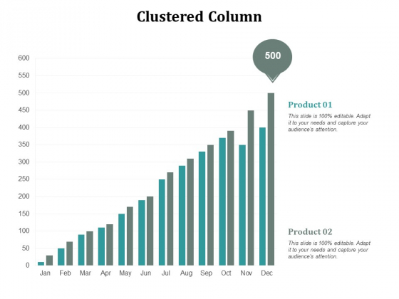Clustered Column Finance Ppt Powerpoint Presentation Gallery Templates Cpb