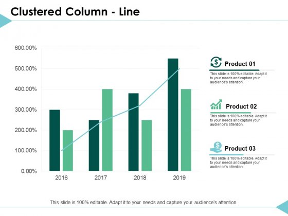 Clustered Column Line Graph Ppt PowerPoint Presentation Inspiration Deck