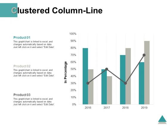 Clustered Column Line Marketing Finance Ppt PowerPoint Presentation Professional Good