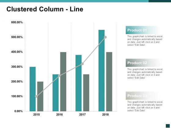 Clustered Column Line Marketing Ppt Powerpoint Presentation Infographics Information