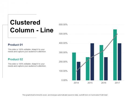 Clustered Column Line Ppt PowerPoint Presentation Inspiration Designs Download
