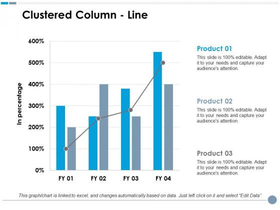 Clustered Column Line Ppt PowerPoint Presentation Model Graphics Tutorials