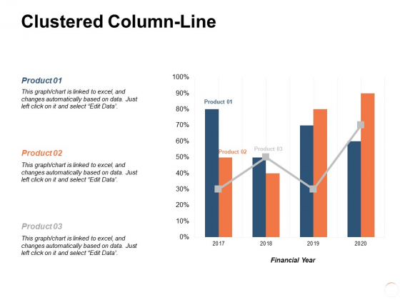 Clustered Column Line Ppt PowerPoint Presentation Pictures Microsoft