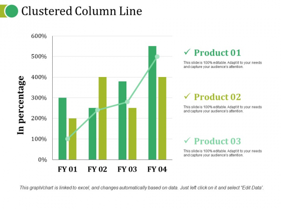 Clustered Column Line Ppt PowerPoint Presentation Topics