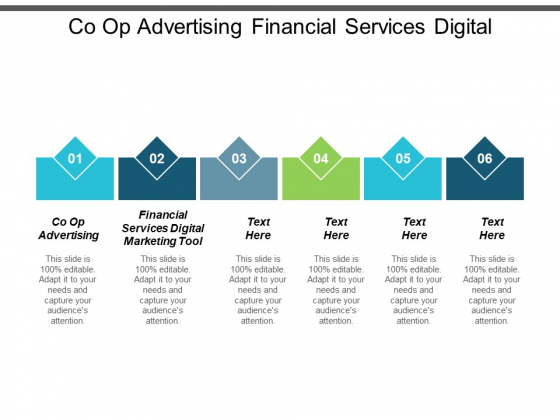 Co Op Advertising Financial Services Digital Marketing Tool Ppt PowerPoint Presentation Layouts Master Slide