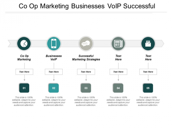 Co Op Marketing Businesses Voip Successful Marketing Strategies Ppt PowerPoint Presentation Gallery Vector