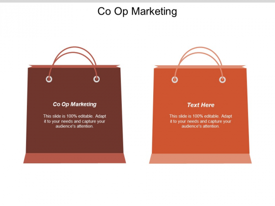 Co Op Marketing Ppt PowerPoint Presentation Show Design Inspiration Cpb