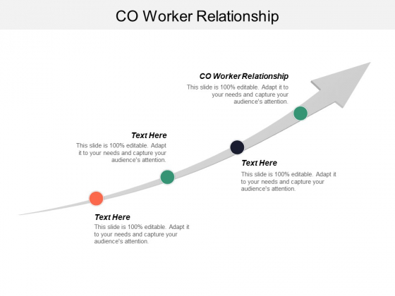 Co Worker Relationships Ppt PowerPoint Presentation Styles Inspiration Cpb