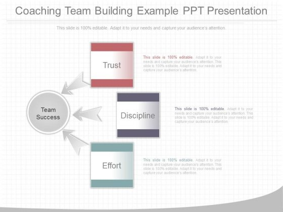 Coaching Team Building Example Ppt Presentation