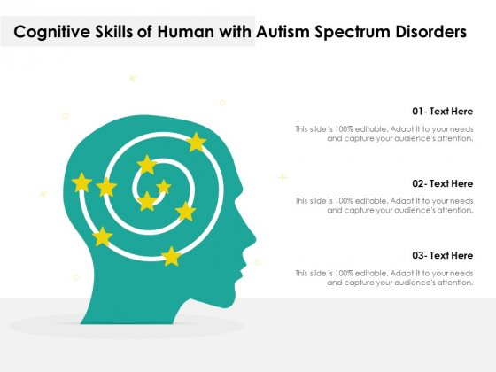 Cognitive_Skills_Of_Human_With_Autism_Spectrum_Disorders_Ppt_PowerPoint_Presentation_Styles_Display_PDF_Slide_1