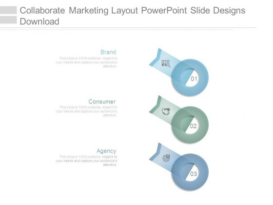 Collaborate Marketing Layout Powerpoint Slide Designs Download